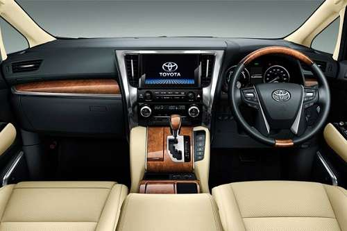 Interior- dasboard Toyota-Alphard