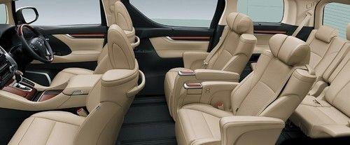 seat toyota-alphard